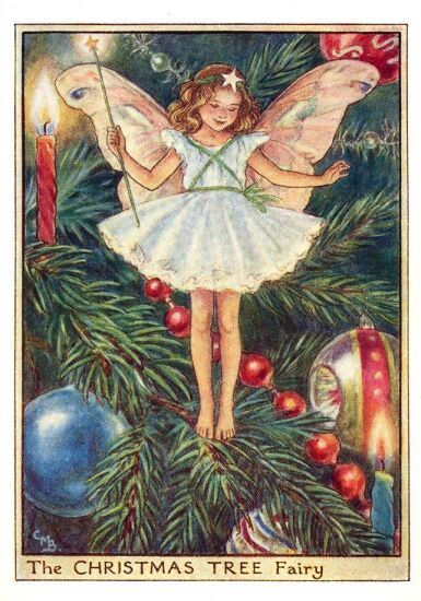 Cicely Mary Barker Christmas Tree Fairy. One of my favorites.