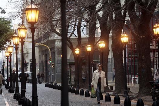 Callecitas porteñas: la Manzana de las Luces, sólo para peatones. Ciudad Autonoma de Buenos Aires.