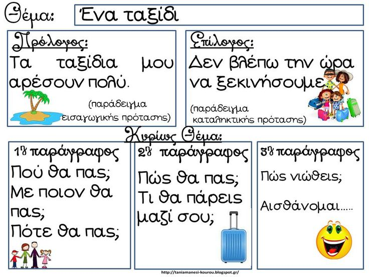 Δραστηριότητες, παιδαγωγικό και εποπτικό υλικό για το Νηπιαγωγείο & το Δημοτικό: Παραγωγή γραπτού λόγου στις πρώτες τάξεις του Δημοτικού (1): 5 σχεδιαγράμματα για την γραπτή έκφραση και χρήσιμες συνδέσεις