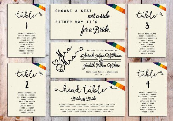 Matrimonio Gay soggiorno grafico carte modello di ArcoDesignGenoa