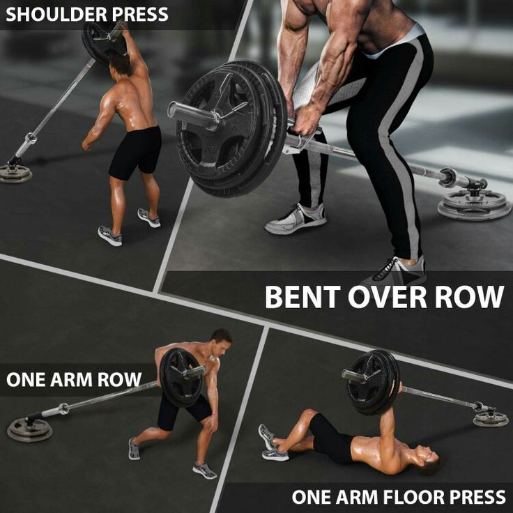 Pin By Carl Freund On Back Wo Chest And Back Workout Shoulder Workout Routine T Bar Row