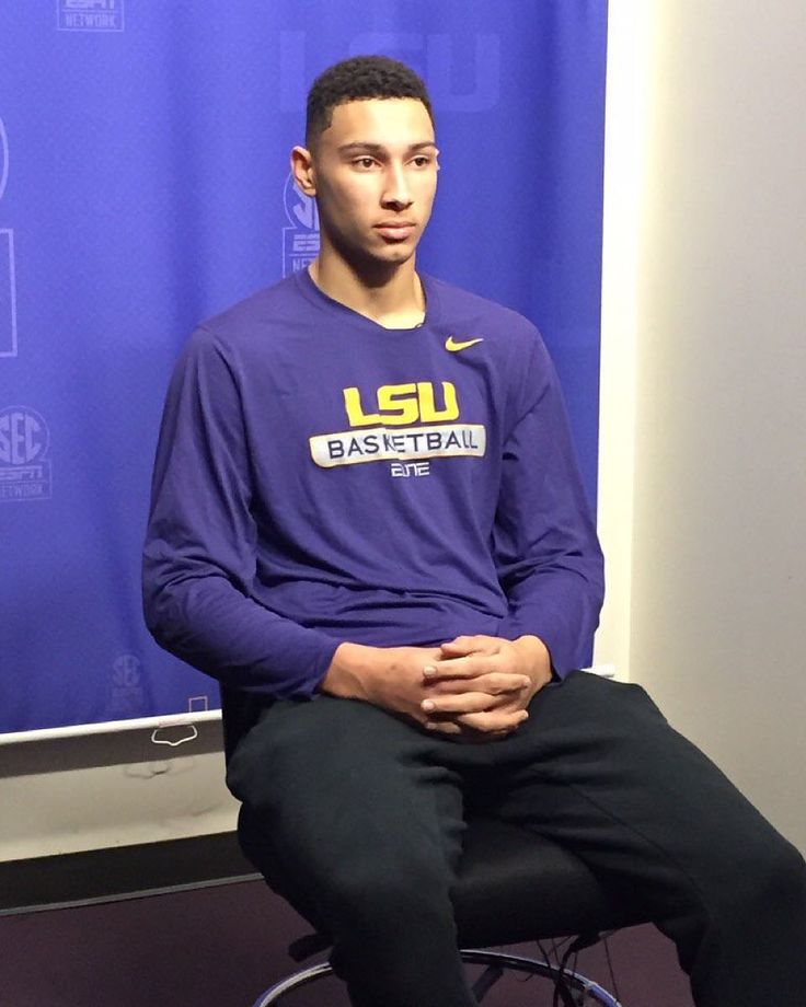 Freshman Ben Simmons doing a live interview this morning on SportsCenter #LSU #LSUBasketball by lsubasketball