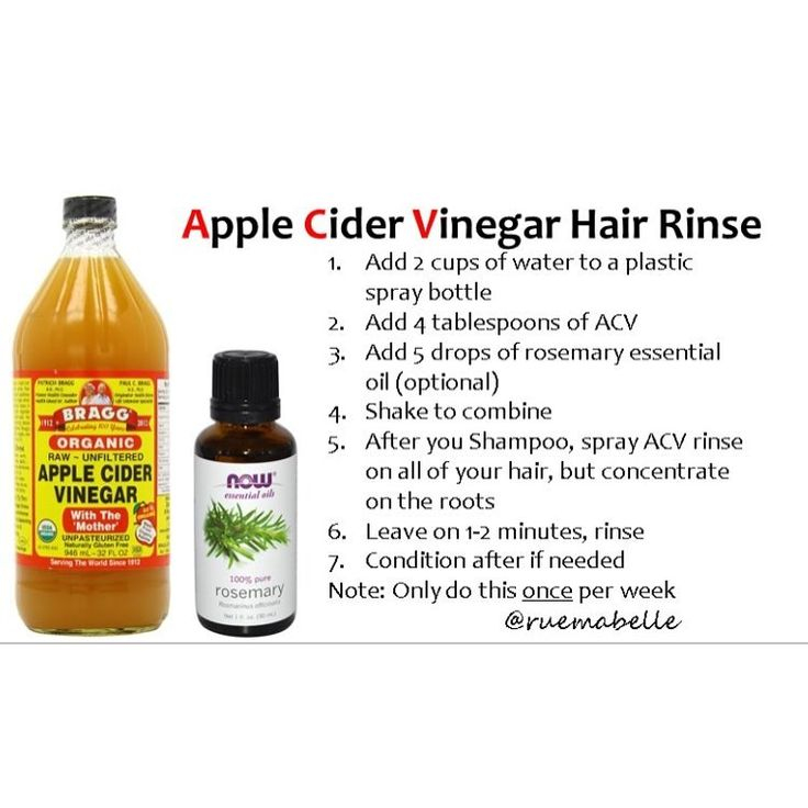 Acv rinse hair