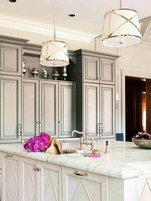 1000+ images about Grey cabinets on Pinterest | Grey cabinets ...