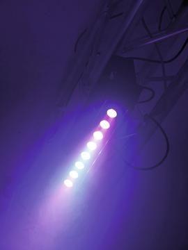 Eurolite LED PIX-8 QCL Bar - Compact LED color changing bar with 8 x 8 W quadcolor LEDs #eurolite #mobilelighting #entertainmentlighting #eventlighting #lighting #clublighting #led #halloweenlighting #weddinglighting #quadcolor #dmx #strobe #rgb #stagelighting #loungelighting