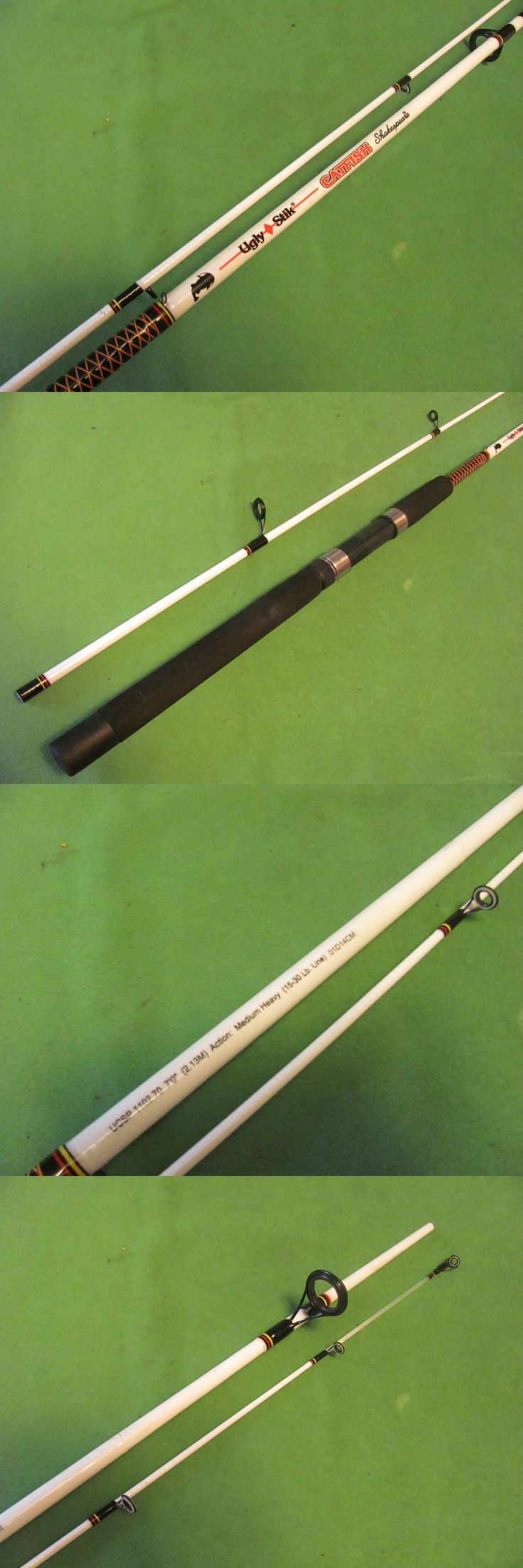Spinning Rods 36150: Shakespeare Ugly Stik Catfish 7 Medium Heavy Spinning Rod.( Ucsp110270 ) BUY IT NOW ONLY: $47.95