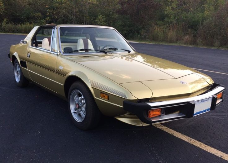 41k mile 1978 fiat x1 9 voitures rares voitures rares. Black Bedroom Furniture Sets. Home Design Ideas