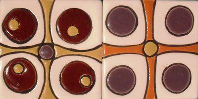 Azulejos con Arte: azulejos artesanales decorados 10x10cm