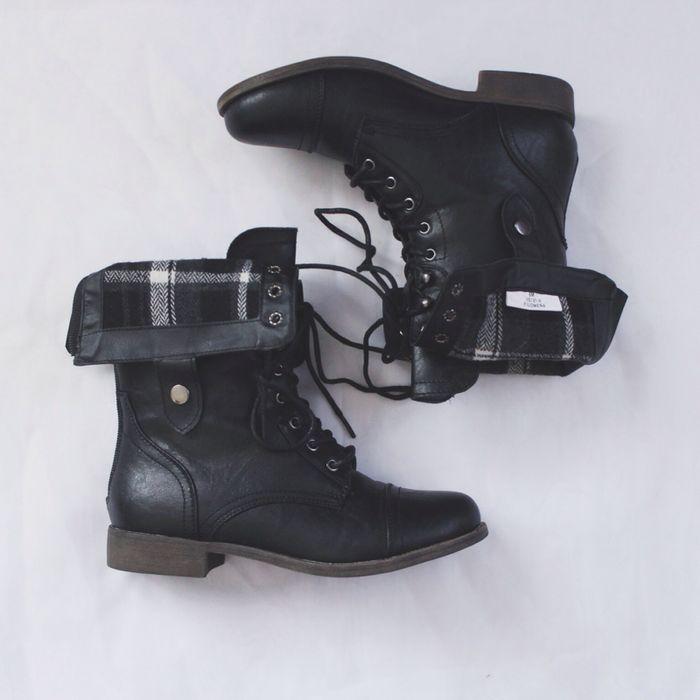 Best 20  Black combat boots ideas on Pinterest | Combat boots ...