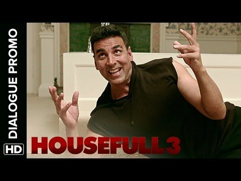 Housefull 3 Dialogue Promo | Jacqueline Is Frustrated With Akshay's Split Personality