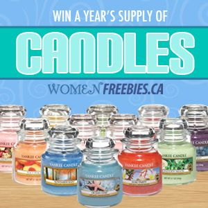 Win a Year's Supply of Yankee Candles