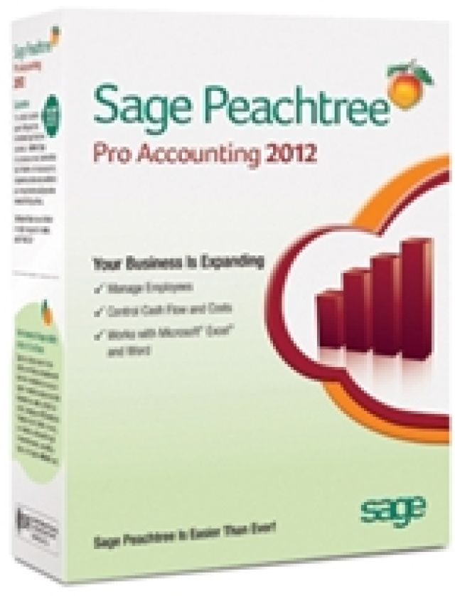 7 Best Accounting Software Packages for Small Businesses: Sage Peachtree Accounting (Windows)