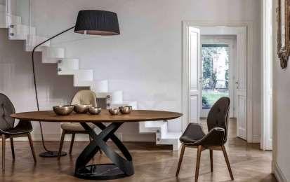 Tonin Casa catalogo 2016 - Tavolo ovale Tonin Casa