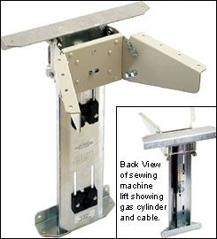 LEE VALLEY  Sewing Machine Lift - Hardware  Would this work for mixer?