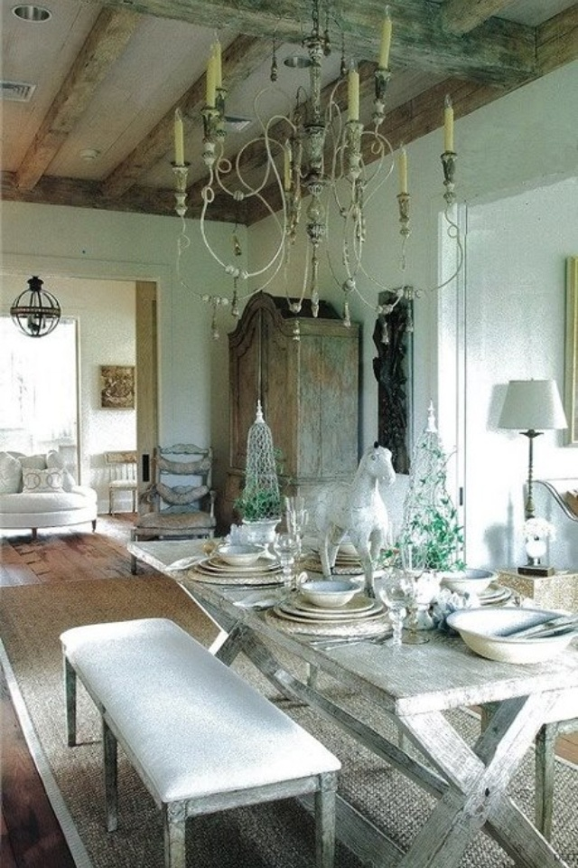 Eye For Design: The White Album   Decorating In The French Country Style