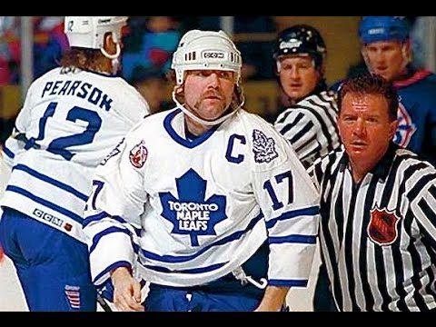 Why are you watching this video when you could be typing WENDEL CLARK HERO OF THE DAY into Google and watching the best hockey video on the Internet? Nothing...