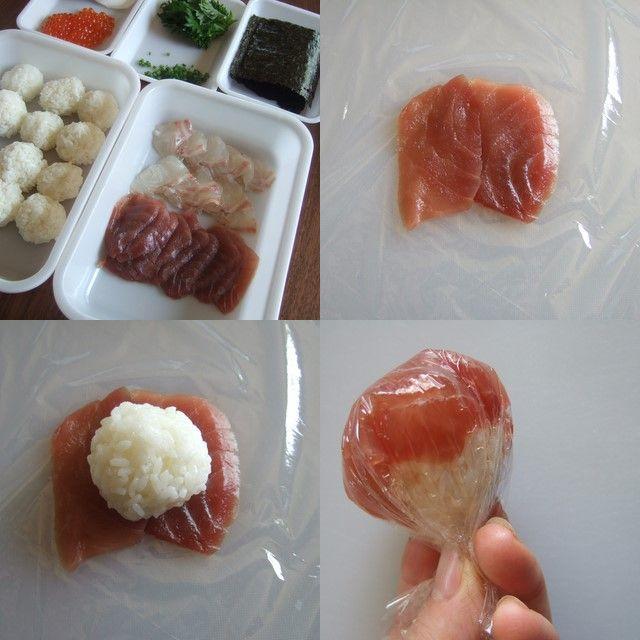 ■材 料■*つくりやすい分量 ごはんは酢飯にしない簡単手まり寿司 ごはん2合分 まぐろ150g たい150g いくら50g 卵2個(塩1つまみ 油小...