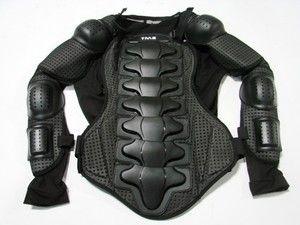Motorcycle Full Body Armor Shirt Jacket Motocross Back Shoulder Protector Gear | eBay