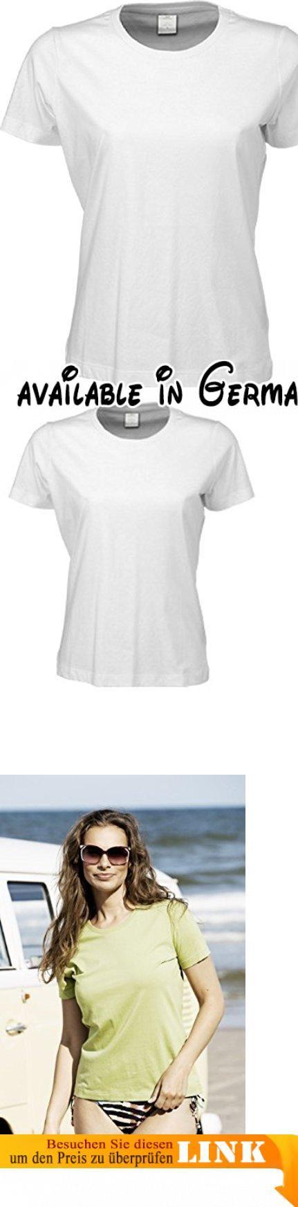 TJ8050-4 Tee Jays 4er-Pack Damen T-Shirt (auch in großen Größen- bis 5XL), Größe:5XL;Farbe:White.  #Apparel #SHIRT