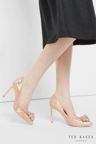 Buy Ted Baker Rose Gold Embellished Court Shoe from the Next UK online shop