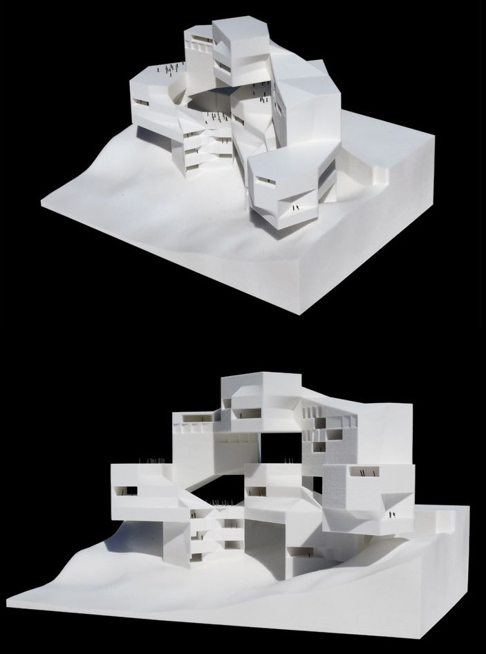 """conceptmodel: """" Casey Hughes Architects """""""