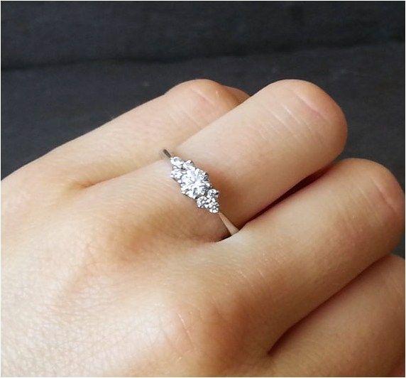 Minimalist Engagement Ring (12).. Aw looks like mine