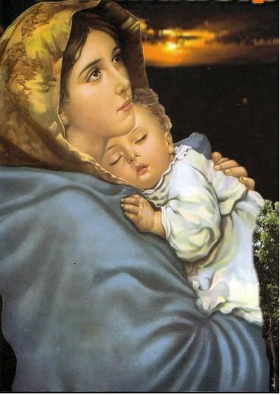 Madre de la ternura!!! Mary and Jesus