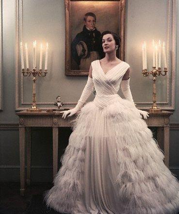 1950s, actress, candlelabra, dress, fashion, jean lodge, john rawlings, portrait, room, vogue, white