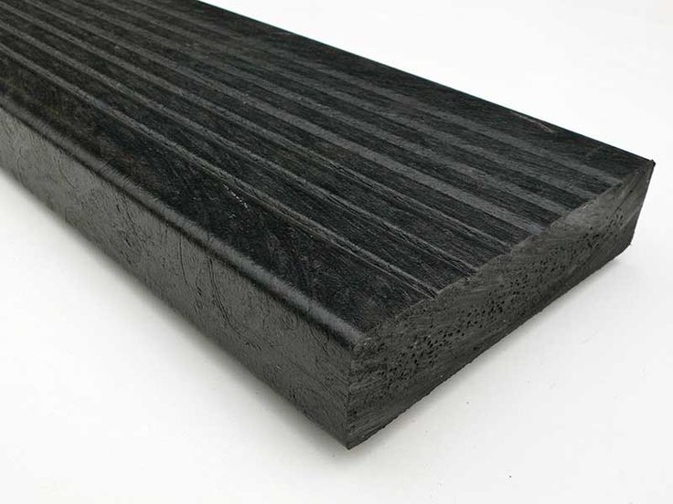 Recycled Plastic Lumber - Decking - Mixed Plastic Decking | Ultra | 150 x 38mm