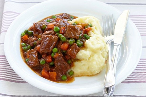Try this braised beef and vegetables for a quick winter meal that makes great leftovers.