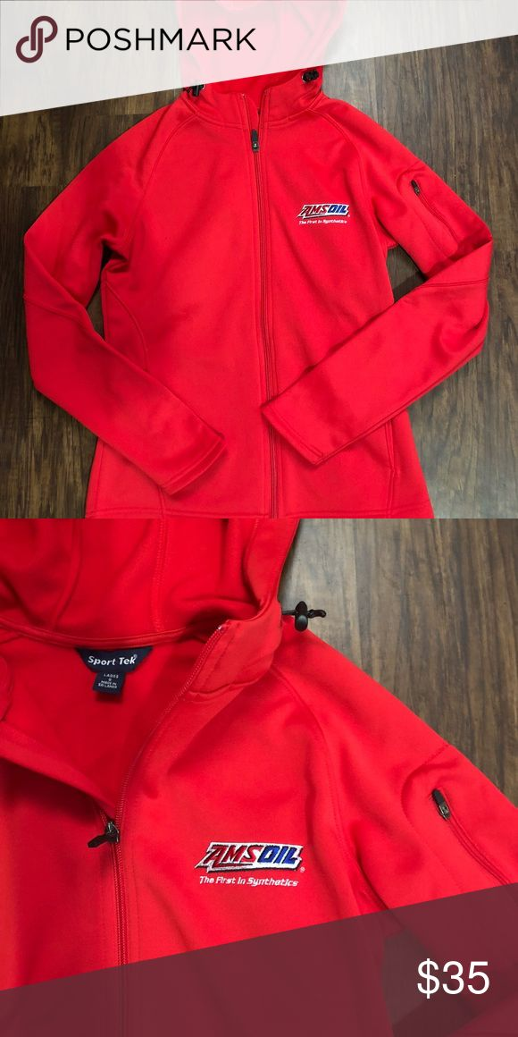 Amsoil team fitted zip up Red zip up never worn Jackets & Coats