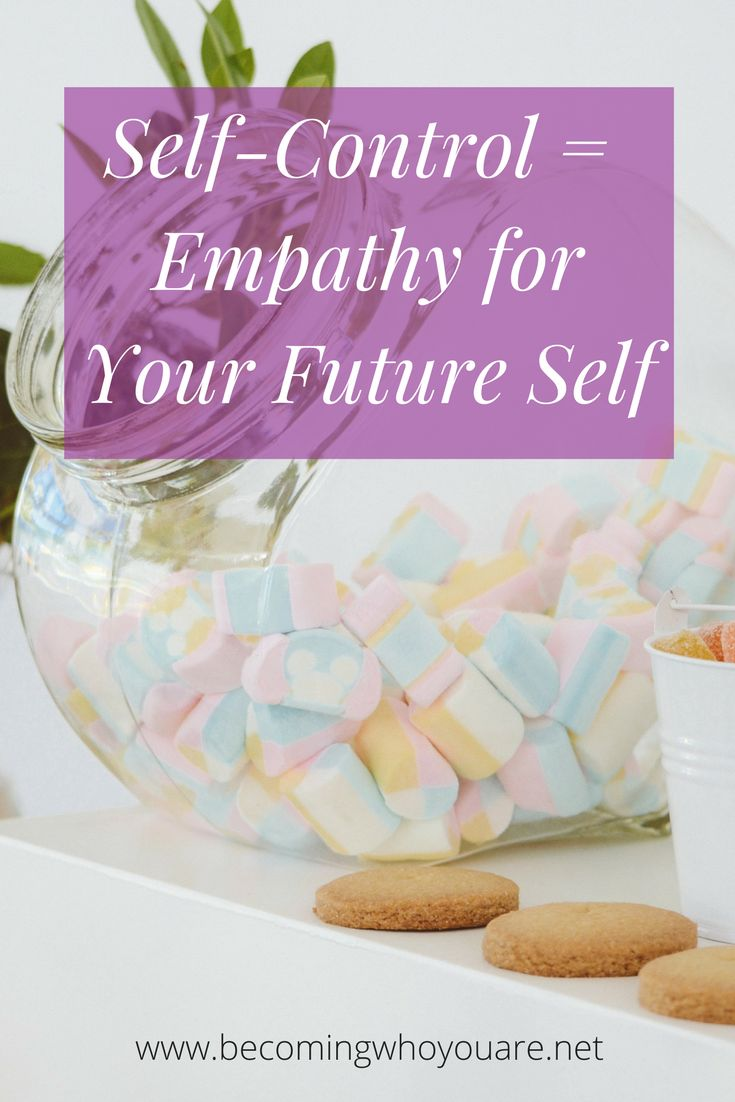 We all know we're supposed to have good self-control but doing so is often harder in practice than it sounds. Click the image to discover a new, more self-compassionate way of thinking about self-control and how it connects with empathy for our future selves.