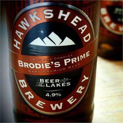 Hawkshead Brewery's Brodie's Prime on boar new Britannia