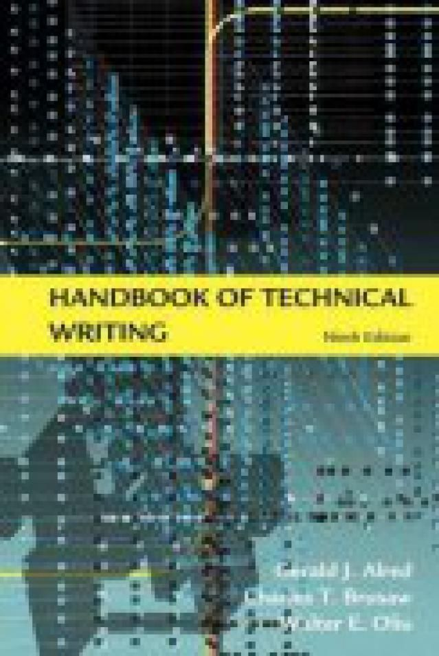 Handbook of Technical Writing by Gerald J. Alred - PDF free download eBook