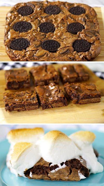 Essas 3 receitas de brownie vão adoçar o seu dia!