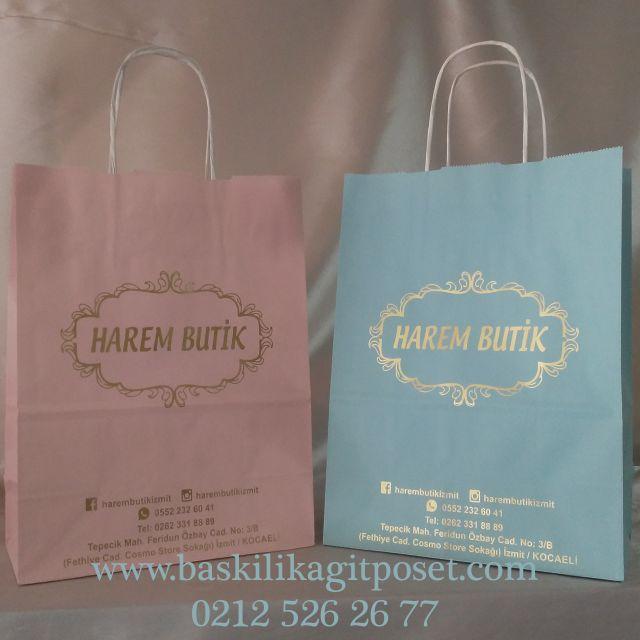 pudra turkuaz mağaza butik poşeti #trend #turkey #istanbul #craftbag #paperbag #kagitcanta