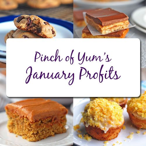 Pinch of Yum Income - January 2012
