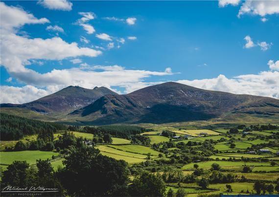Landscape Photography Mourne Mountains County Down Northern Ireland Fine Art Photo Print Canvas Jigsaw With Images Landscape Landscape Photography Fine Art