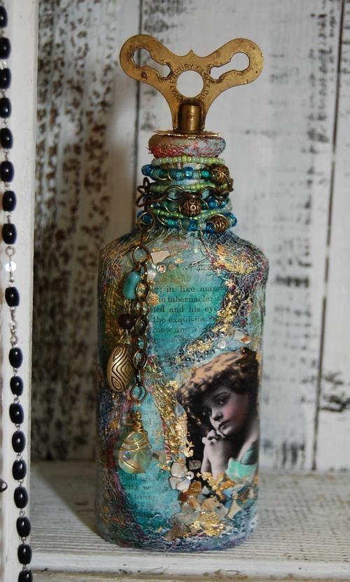 bottle art 8