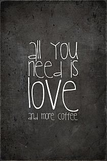 All you need is...