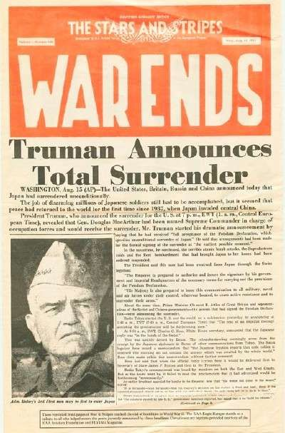 Truman Signs Peace Treaty With Japan, Officially Ending WWII pics | Big Search Blog: World War II