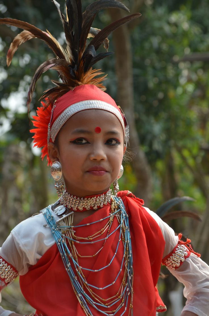 Indigenous girl of the Mandi tribe, who are part of a matriarchal society where the man leaves his family home to join his wife's family and also takes his wife's name. They have worked with CORR The Jute Works (one of Trade Aid's oldest partners) for 35 years and produce sikas and jute bags. They are the only NGO who work in this very remote and isolated part of Bangladesh. Fair trade - handmade change