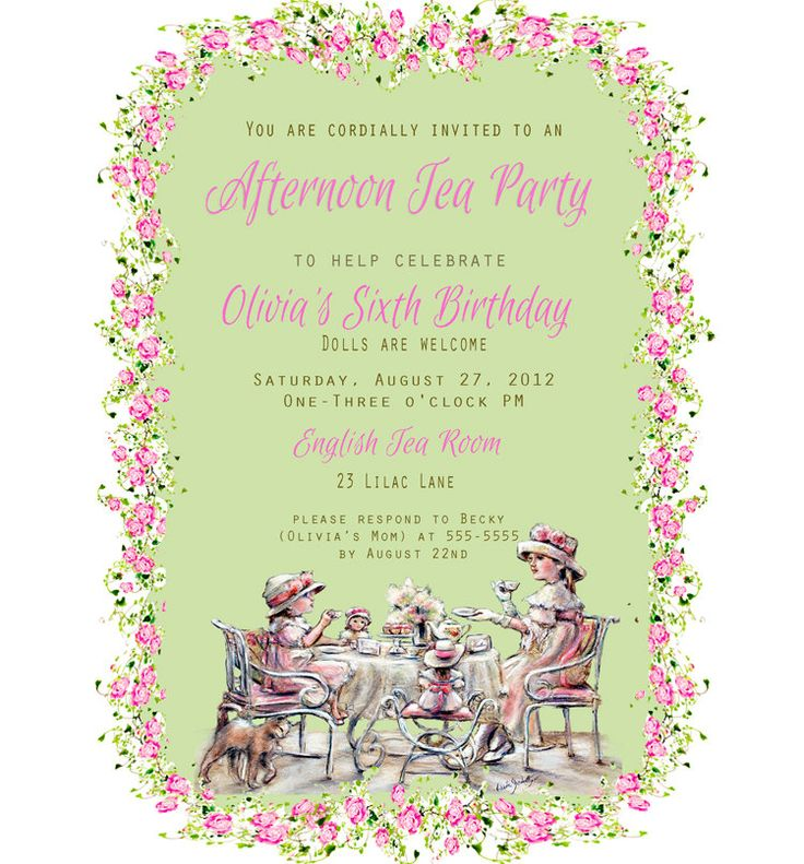 109 best Party: Tea Party images on Pinterest | Anniversary ideas ...