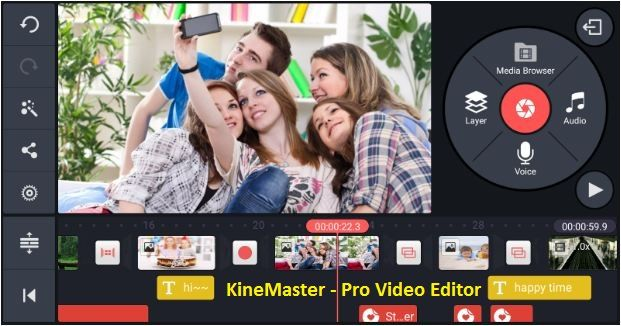 KineMaster for PC laptop Windows 7 8 10 Mac Download Pro