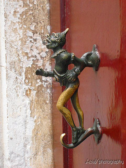 Door Knockers- This one is from Venice