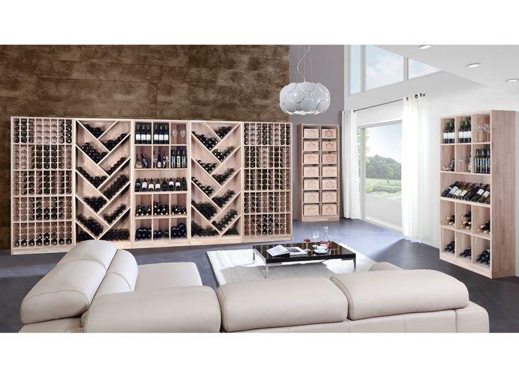 Oltre 25 fantastiche idee su parete con vini su pinterest - Portabottiglie da parete ikea ...