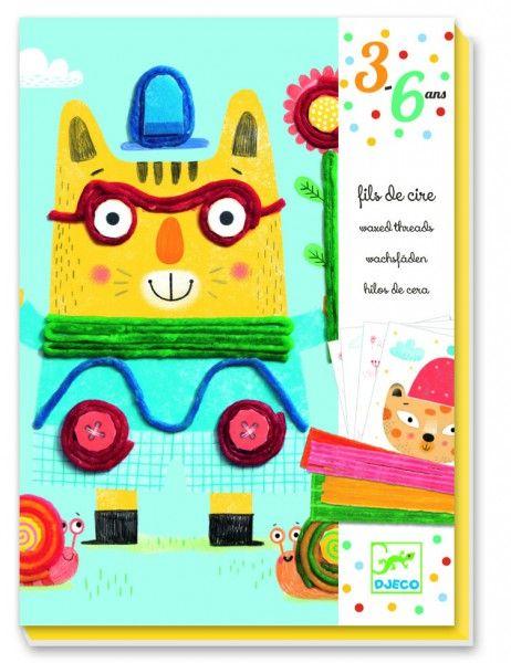 Zestaw artystyczny Djeco - Filomena i przyjaciel - cena: 76.00zł - Zabawki plastyczne / Zabawki według aktywności / ZABAWKI DLA STARSZAKÓW :: Tublu.pl - zabawki, artykuły i akcesoria dla dzieci i niemowląt
