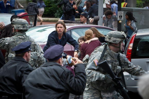 """Paramount Pictures and Regal Entertainment Group are offering customers a first-of-its-kind """"Mega Ticket"""" package with the upcoming release of """"World War Z."""""""