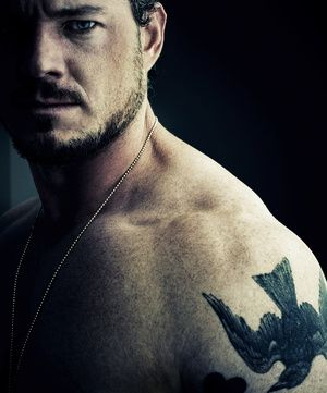 by Michael Muller: Eye Candy, This Man, Sexy, Birds Tattoo, Grey Anatomy, Man Candy, Boys, Beautiful People, Eric Danes