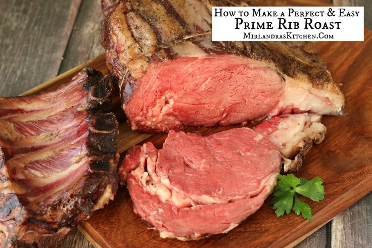 Making a special Prime Rib Roast is easier to make than you might think. This recipe has simple instructions and tips to make the perfect roast that will amaze all your dinner guests. This is the holiday roast people will be telling stories about ten years from now!